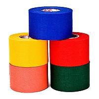 뮬러 컬러 면 테이프/적색/청색/녹색/면테이핑